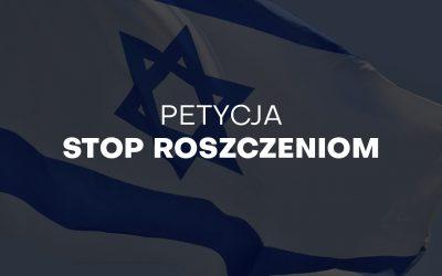 Powiedz nie bezprawnym roszczeniom żydowskim – podpisz petycję!