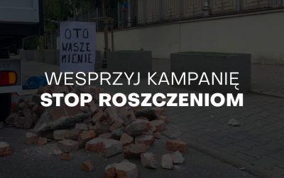 Wesprzyj kampanię Stop Roszczeniom